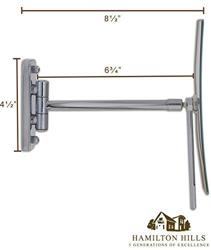 3X Magnified Premium Modern Wall Mounted Rectangular ...
