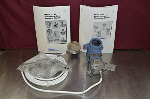 - Rosemount 3051C Pressure Transmitter w/Model 1199 Diaphragm Seal & Manuals NIB