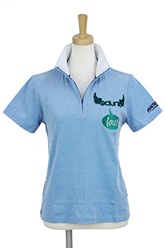 ポロシャツ レディース クランク CLUNK 日本正規品 2018 春夏 ゴルフウェア M(M) ブルー(BLU) mc8s-lsf