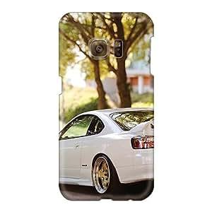 Durable Hard Phone Cases For Samsung Galaxy S6 (CQB2375INFC) Customized Vivid Beautiful Nissan Silvia S15 Skin