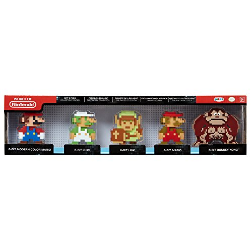 World of Nintendo 8-Bit Collection 5 Figure Gift Set Toy Figure