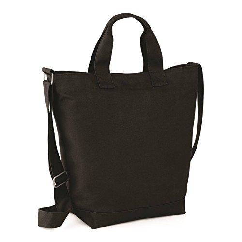 BagBase Canvas Day Bag Black