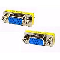 MODAVELA Cople/Conector De Vga A Vga Hembra para Unir Cables Vga