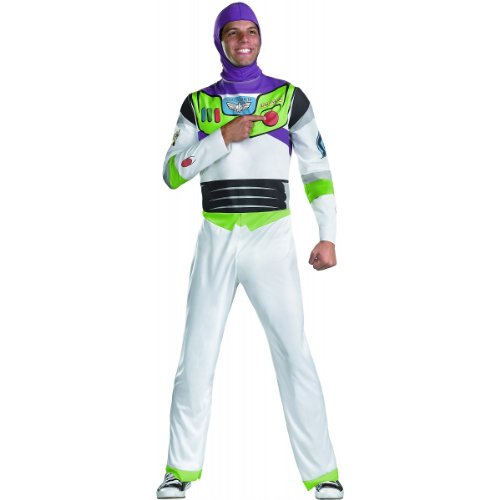 Buzz Lightyear Costume - X-Large - Chest Size 42-46 (Buzz Lightyear Fancy Dress Adult)