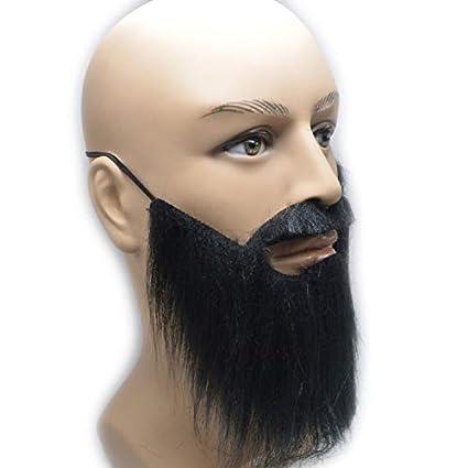 ae0c86ecc74 Amazon.com  Agreatca 4 PCS Costume Party Male Man Fake Beard ...