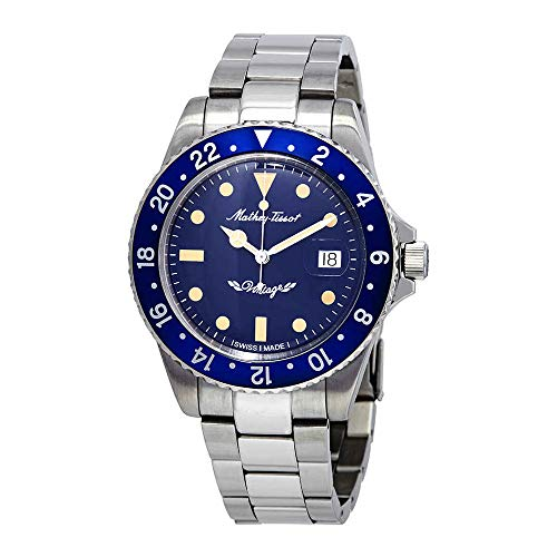 Mathey-Tissot Rolly Vintage Automatic Blue Dial Mens Watch H901ATBU
