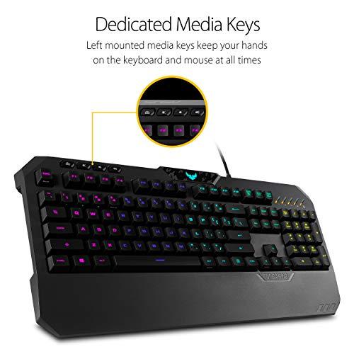 Asus TUF GAMING K5 RGB Wired Gaming Keyboard