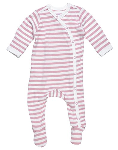Under The Nile Unisex-Baby Newborn Stripe Footie