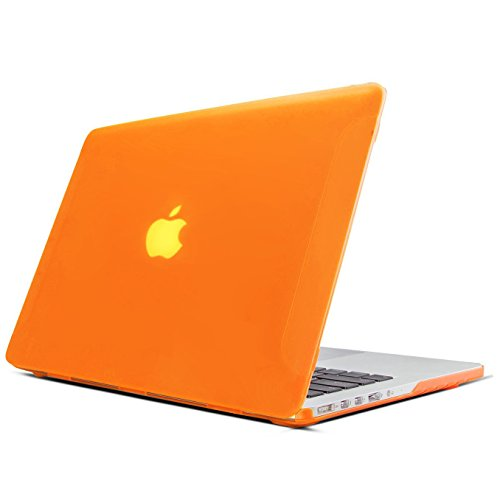 FaNepo Hard Case for Macbook Pro Retina 13 - Mac Pro 13 Orange Case