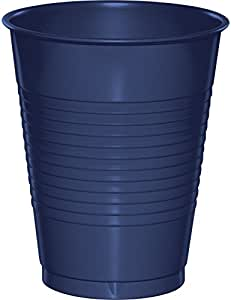 Creative Converting Plastic Cups, 16 oz, Navy (20 Count)