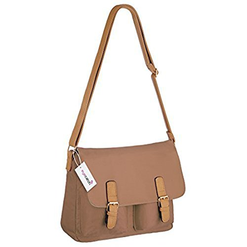 main a EyeCatch besace Femme epaule Clair Marron London Sac 7vnxwnEB4