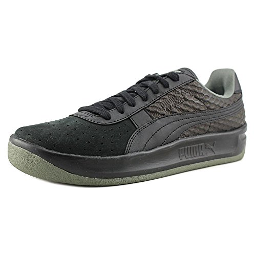 b3d6da3d7b63b9 good Puma GV Special Textured Men Round Toe Synthetic Black Running Shoe
