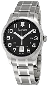 Victorinox Swiss Army Men's 241322 Alliance Black Dial Watch