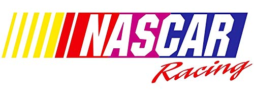 Crazy Discount NASCAR Racing Vinyl Sticker Decal Outside Inside Using for Laptops Water Bottles Cars Trucks Bumpers Walls, 3