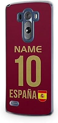 Nombre de España + punto de camiseta LG G2 con tapa de España Spain: Amazon.es: Electrónica