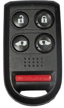 2005-2010 Honda Odyssey EX Five Button Keyless Entry Remote Fob Clicker With Free Do-It-Yourself Programming and Free eKeylessRemotes Guide (Remote Odyssey)