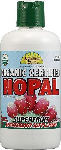Dynamic Health Organic Certified Juice Blend, Nopal, 33.8 Fluid Ounce