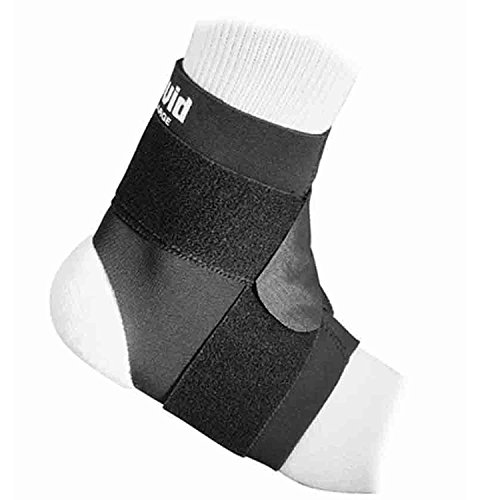 McDavid Classic Logo 432 CL Level 2 Ankle Support W/ Figure-8 Straps - Black - Small -