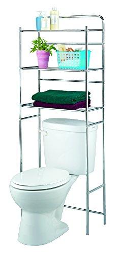 Home Bath Finnhomy 3 Shelf Bathroom Space Saver Over The Toilet ...