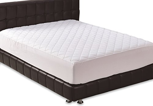 Fitted Quilted Queen Mattress Pad - Stretches up to 17inch Deep Mattress Pad Cover by Utopia Bedding