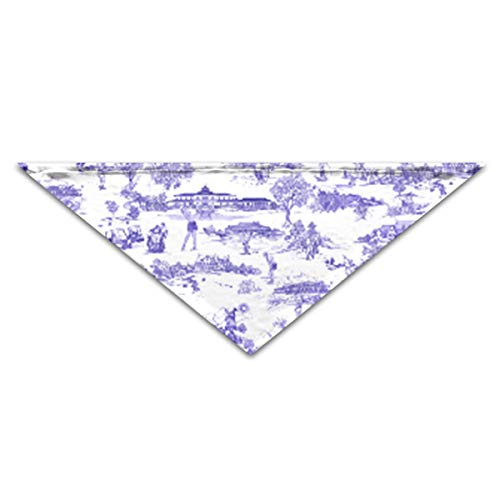 OLOSARO Dog Bandana Hamptons Golf Triangle Bibs Scarf Accessories for Dogs Cats Pets Animals]()