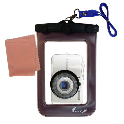 軽量水中カメラバッグSuitable for the Canon PowerShot e1防水保護   B004AQD9MG