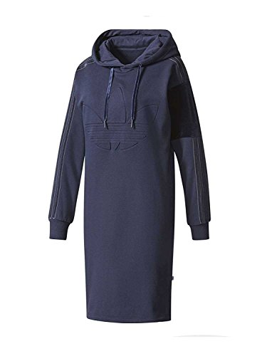 Blau Kleid Hood M Damen adidas Dress tinley F6qx7wFBn