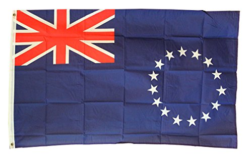 Cook Islands - 3' x 5' Polyester World Flag