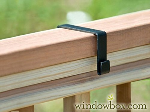 Deluxe Deck Rail Brackets (2x4 Railing) by Windowbox (Image #3)