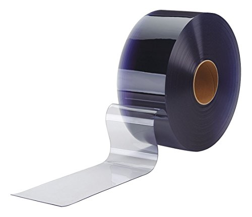 Flexible Bulk Rolls, Smooth, 8in, Clear, PVC by TMI (Image #1)