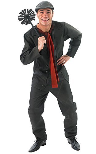 Mens Bert Chimney Sweep Fancy Dress Costume Adults Mary Poppins Outfit