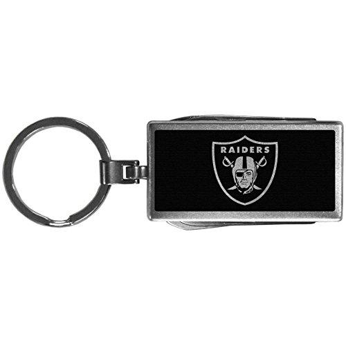 (Siskiyou Sports NFL Oakland Raiders Multi-Tool Key Chain, Black)