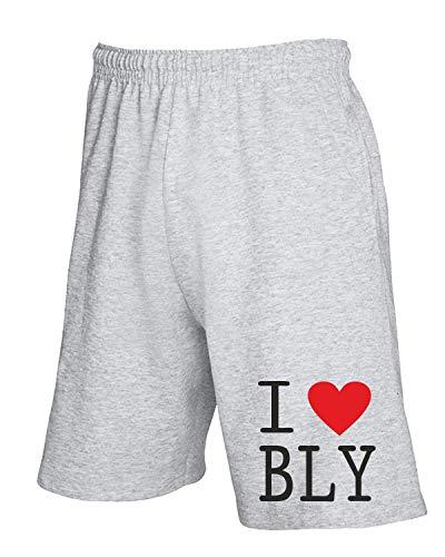 Tuta Burnley Grigio Pantaloncini shirtshock Love T Wc0405 I EwTOFqg