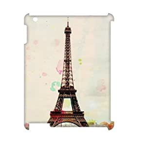 Paris Tower Print 3D-Printed ZLB531501 Brand New 3D Cover Case for Ipad 2,3,4