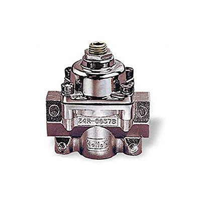 Holley HOL 12-804 12-804 Fuel Pressure Regulator: Automotive