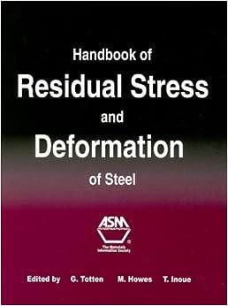 Handbook of Residual Stress and Deformation of Steel