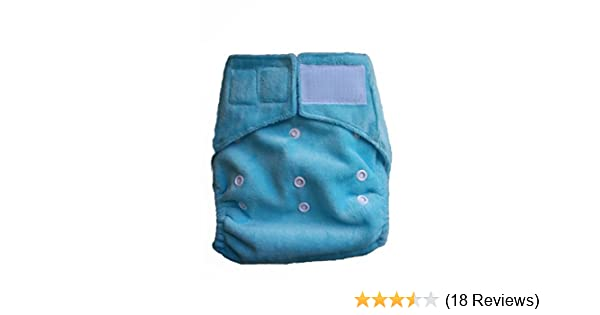 Amazon.com : Cloth Baby Diapers. One Size Fits All Baby Diaper Cover with triple layers Microfiber Insert. Best Velcro closure type.