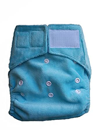 Cloth Baby Diapers. One Size Fits All Baby Diaper Cover with triple layers Microfiber Insert