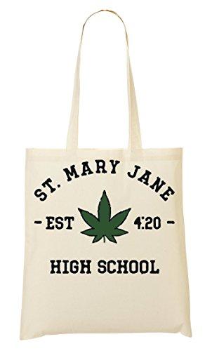 St Mary Jane High School Bolso De Mano Bolsa De La Compra