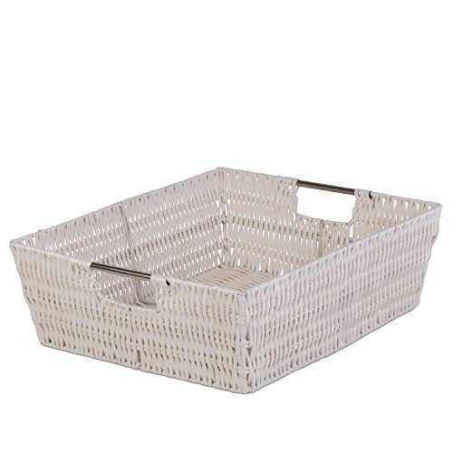 Creative Scents Decorative Storage Basket - Closet Organizer Bin w/ Ample Space - Incredibly Versatile - Highly Durable Build - Easy to Clean - Attractive Design - 13