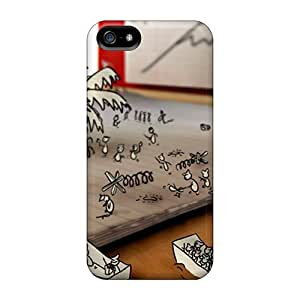 Fashion Design Phone case New Arrival Case Specially Design For Iphone 5/5s (doodle Battle)