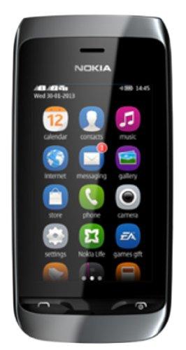 Nokia Asha 310 (Black) Smartphones at amazon