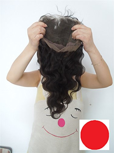 Good-Quanlity Full Lace Human Hair Wig For Black Women European Virgin Remy Human Hair Body wave Color #1b (trademark:DaJun)