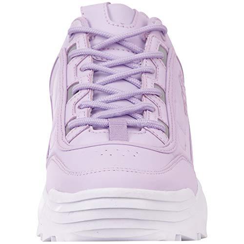 2410 Violett Baskets Rave flieder Femme Kappa white nwOpqHx1
