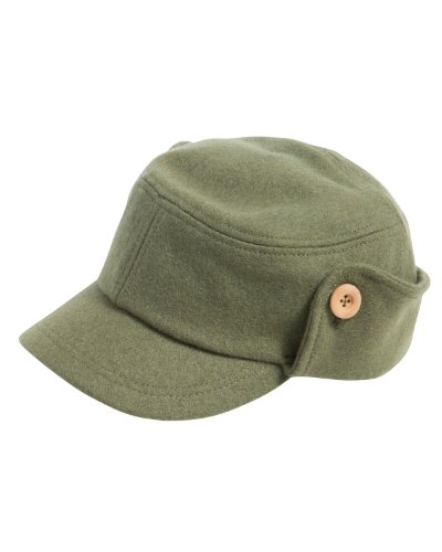 Alternative Men's Wool Fidel Cap, Army, One - Hat Fidel Army