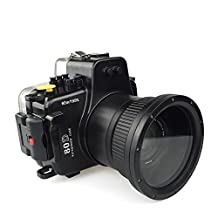 Polaroid SLR Dive Rated Waterproof Underwater Housing Case For The Canon 80D With 18-105mm Lens