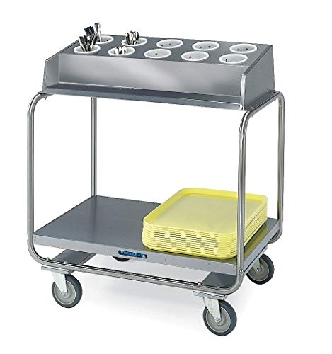 Lakeside Tray Cart, Stainless, 37x22x40 - 403