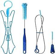 Hydration Bladder Cleaning brush Set for Universal Water Reservoir,Water Bladder Cleaning Kit 4 in 1 Flexible