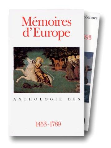 Coff memo europe (anthologie des littératures europeennes) (French - Coffs Central
