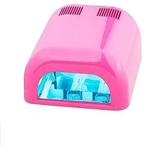 Nail Dryer 36W UV Art Lamp Light Gel Curing Polish Pink
